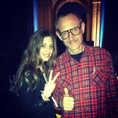 Stephanie Belles & Terry richardson, evento Silvian Heach